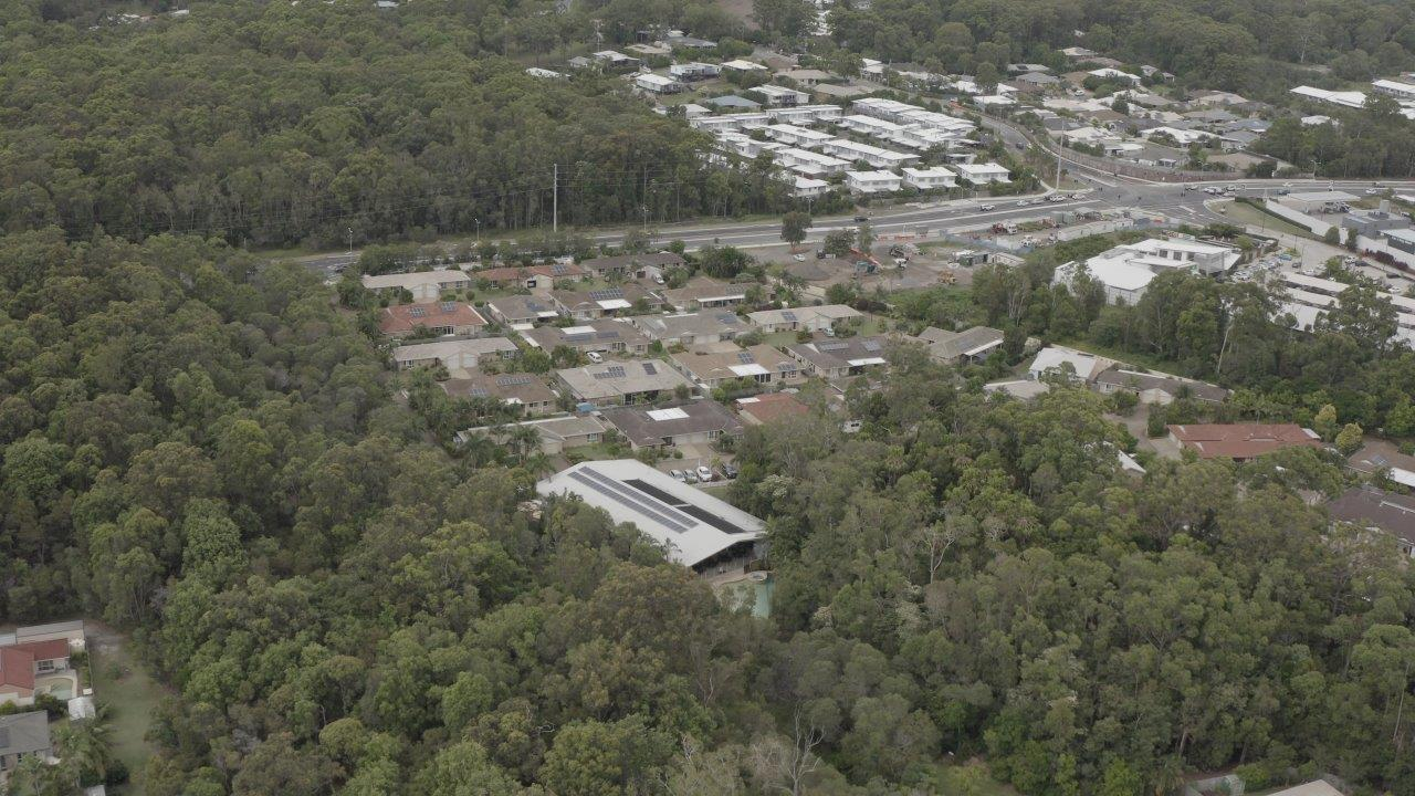 IRT Parklands aerial view